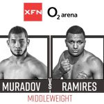 And here we go! Muradov and Ramirez in XFN: Back to the O2 Arena!