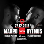 The biggest Czech-Slovak MMA championship: X Fight Nights scheduled for 27th of December, 2018 as XFN 15: Marpo vs. Rytmus